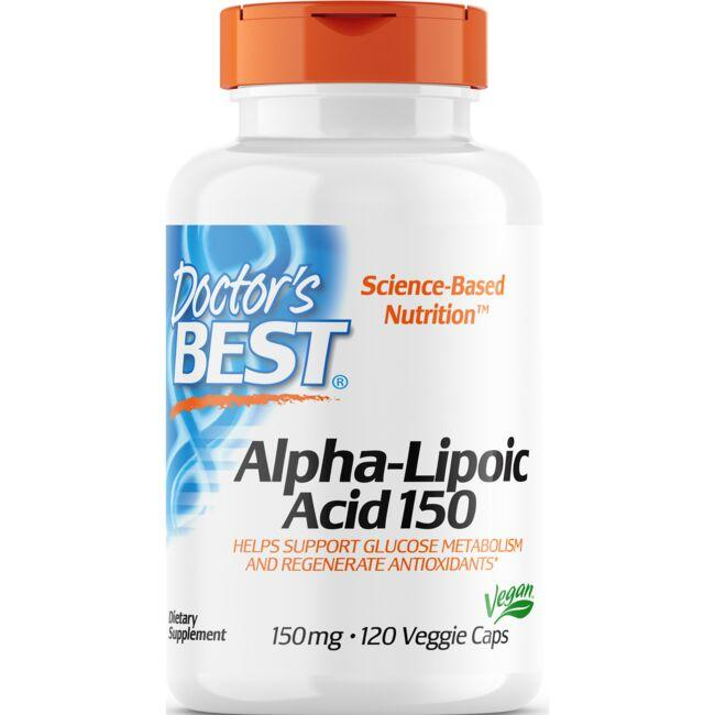 Doctor's Best Alpha-Lipoic Acid 150