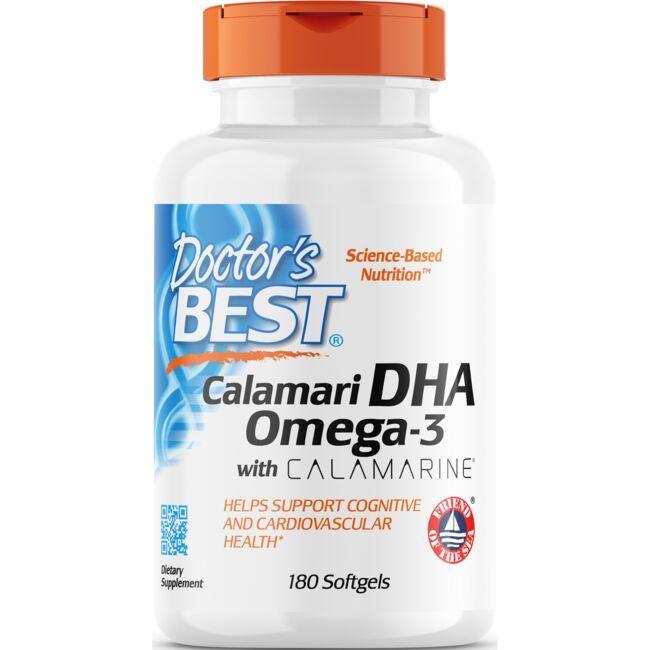 Doctor's BestCalamari DHA 500 with CALAMARINE
