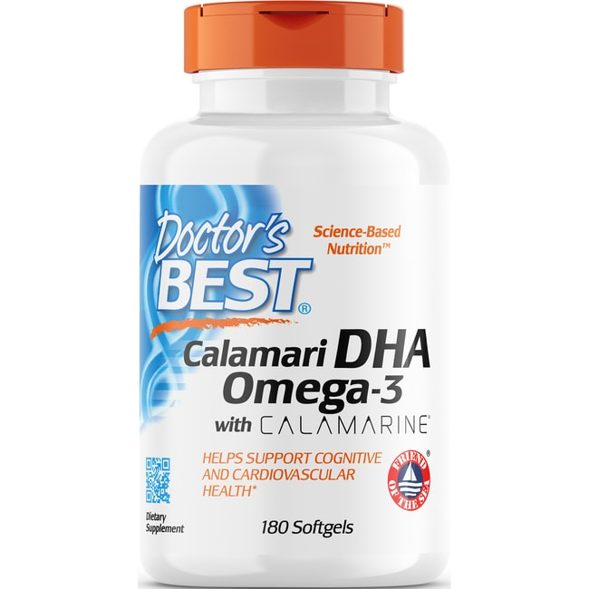 Doctor's Best Best DHA 500 from Calamari