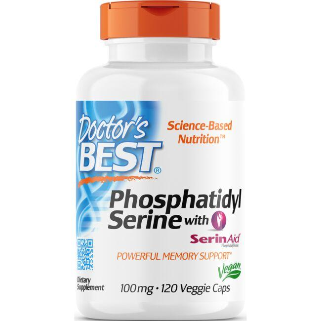 Doctor's Best Phosphatidyl Serine with SerinAid