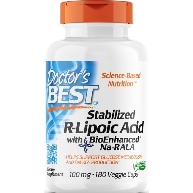 Doctor's BestStabilized R-Lipoic Acid with BioEnhanced Na-RALA