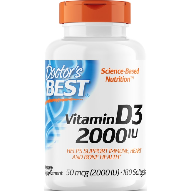 Doctor's BestBest Vitamin D3