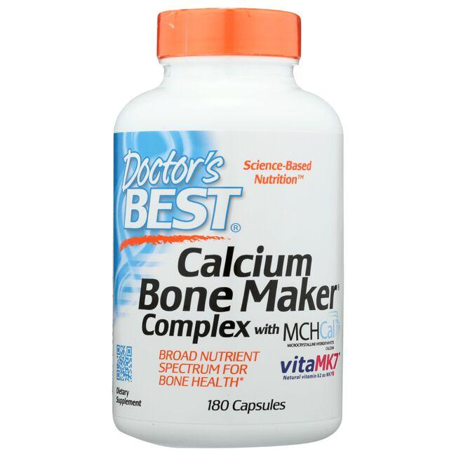 Doctor's Best Calcium Bone Maker Complex with MCHCal