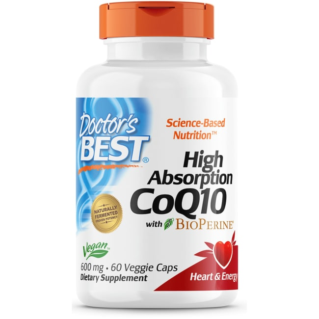 Doctor's Best High Absorption CoQ10 with BioPerine