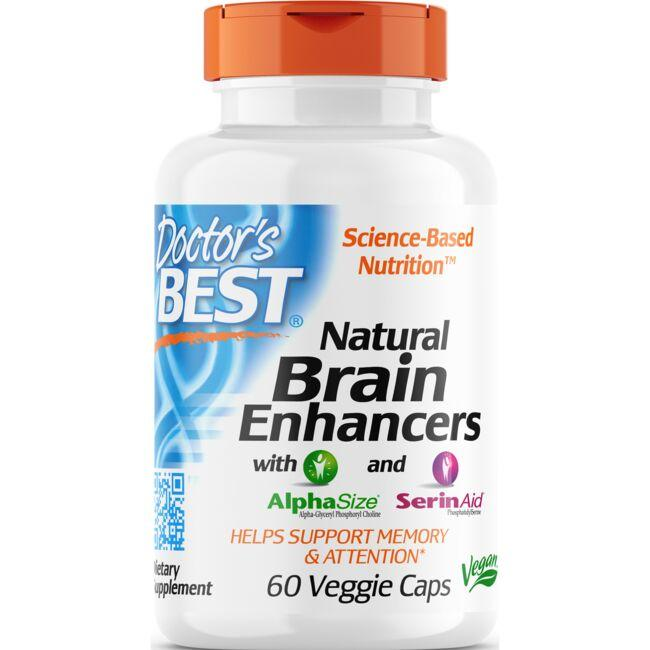 Doctor's BestNatural Brain Enhancers with AlphaSize and SerinAid