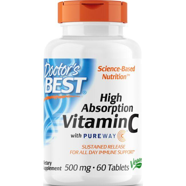 Doctor's Best 12-Hour Vitamin C with PureWay-C
