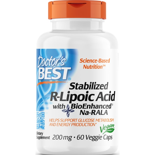 Doctor's BestBest Stabilized R-Lipoic Acid
