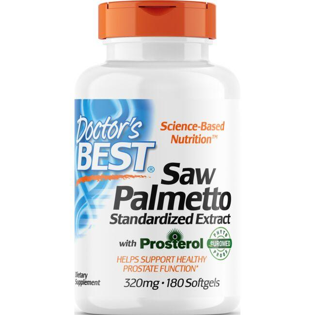 Doctor's Best Saw Pelmetto Standardized with Prosterol