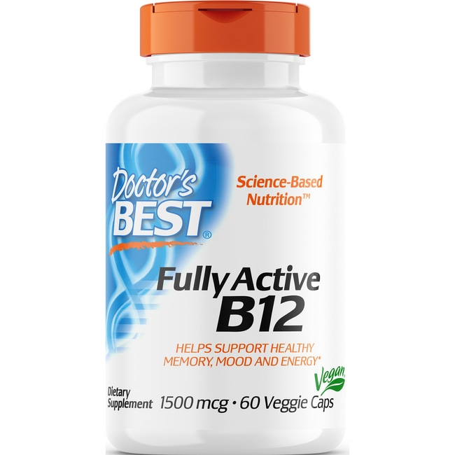 Doctor's BestBest Fully Active B12
