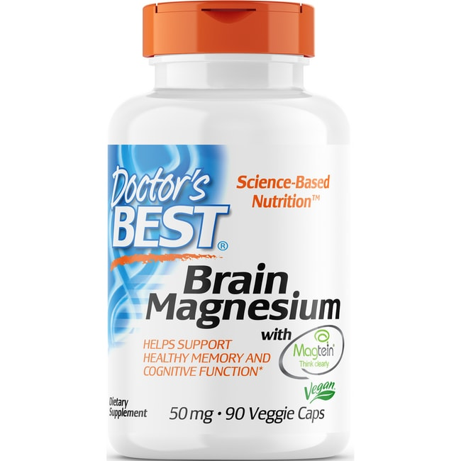 Doctor's BestBrain Magnesium with Magtein