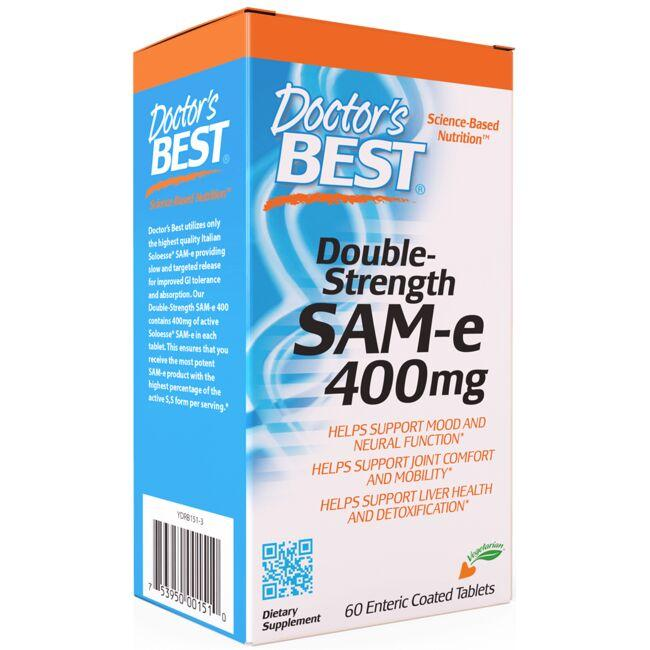 Doctor's Best Double-Strength SAM-e