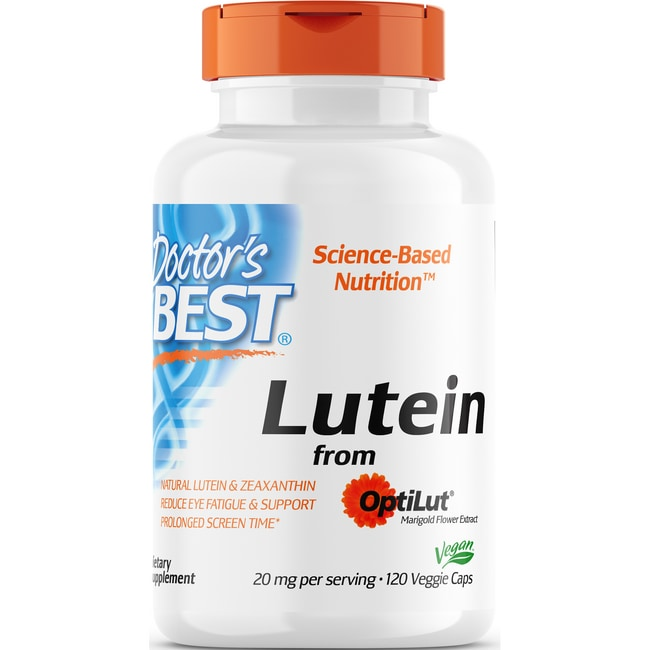 Doctor's Best Lutein with OptiLut