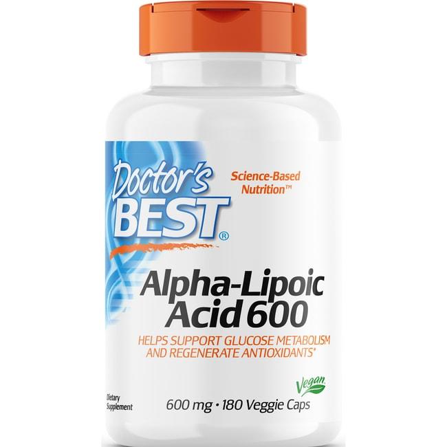 Doctor's Best Best Alpha-Lipoic Acid 600