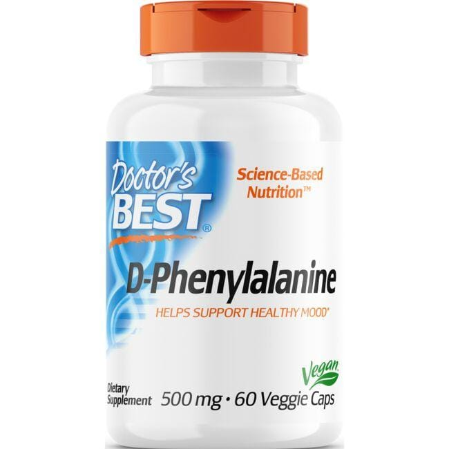 Doctor's Best Best D-Phenylalanine