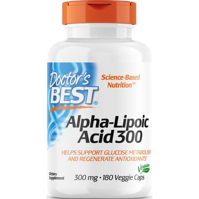 Doctor's Best Alpha-Lipoic Acid 300