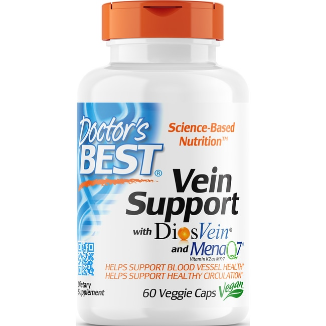 Doctor's BestBest Vein Support Featuring DiosVein