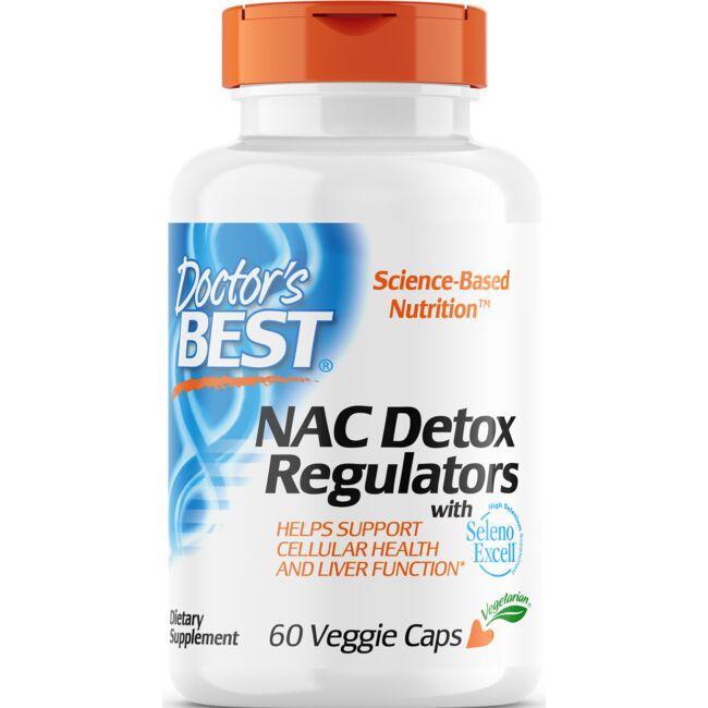 Doctor's BestNAC Detox Regulators with Seleno Excell