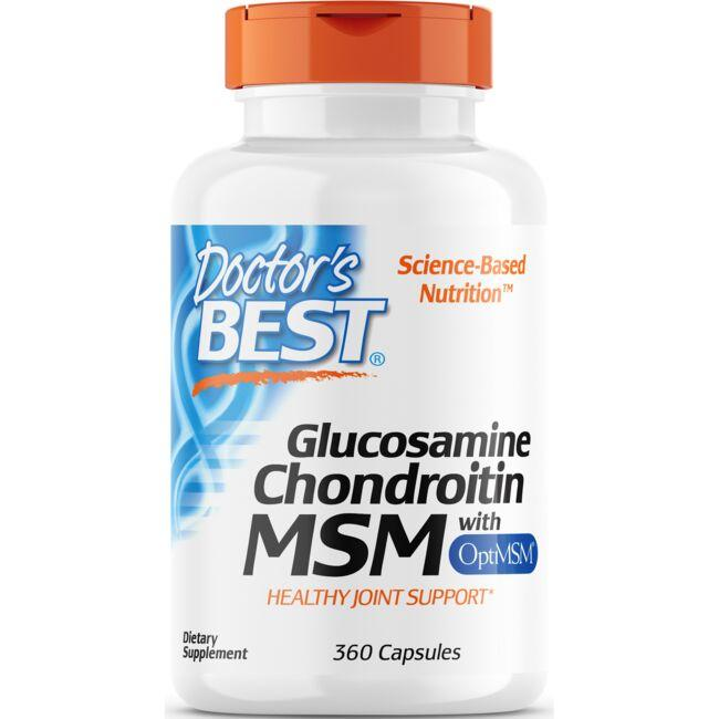 Doctor's Best Glucosamine Chondroitin MSM with OptiMSM