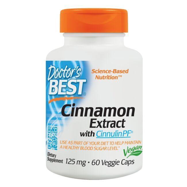 Doctor's BestCinnamon Extract Cinnulin PF