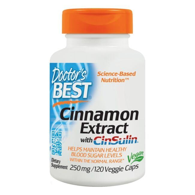 Doctor's Best Cinnamon Extract with Cinsulin