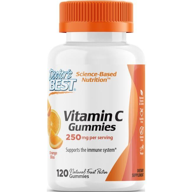Doctor's BestVitamin C Gummies - Orange Bliss