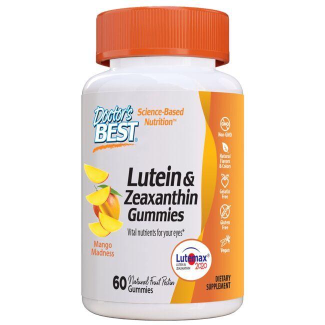 Doctor's BestLutein & Zeaxanthin Gummies - Mango Madness
