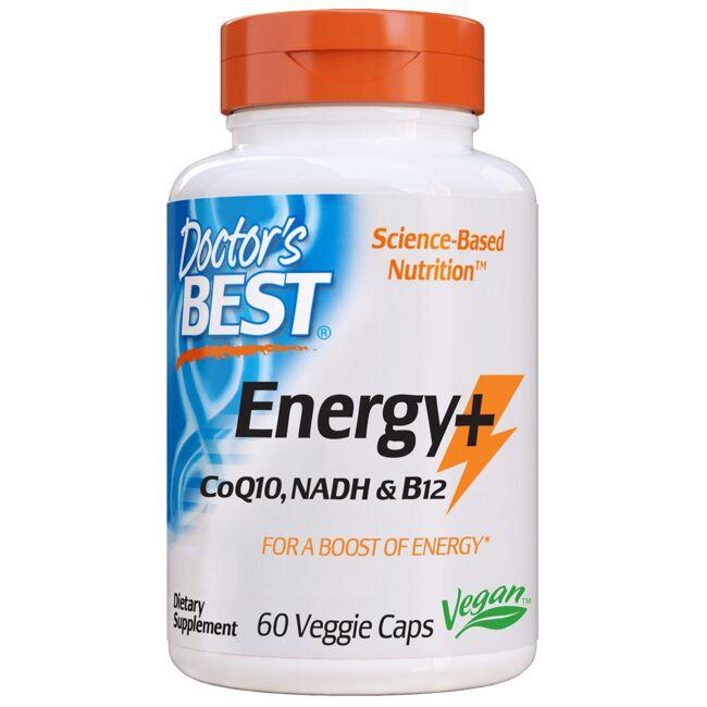 Doctor's Best Energy+ CoQ10, NADH, and B12
