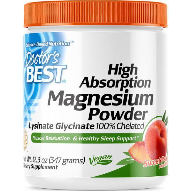 Doctor's BestHigh Absorption Magnesium Powder - Peach
