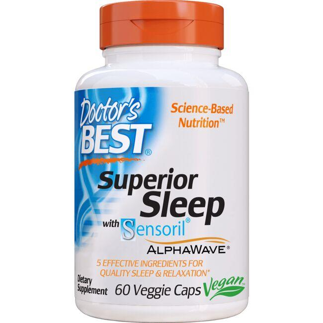 Doctor's Best Superior Sleep with Sensoril