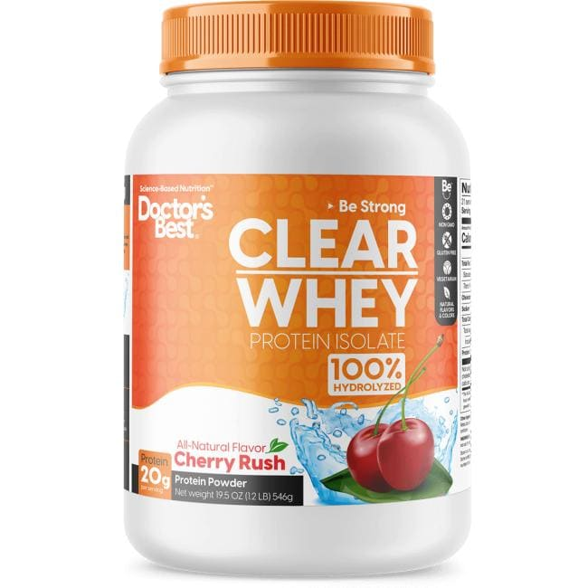 Doctor's BestClear Whey Protein Isolate - Cherry Rush
