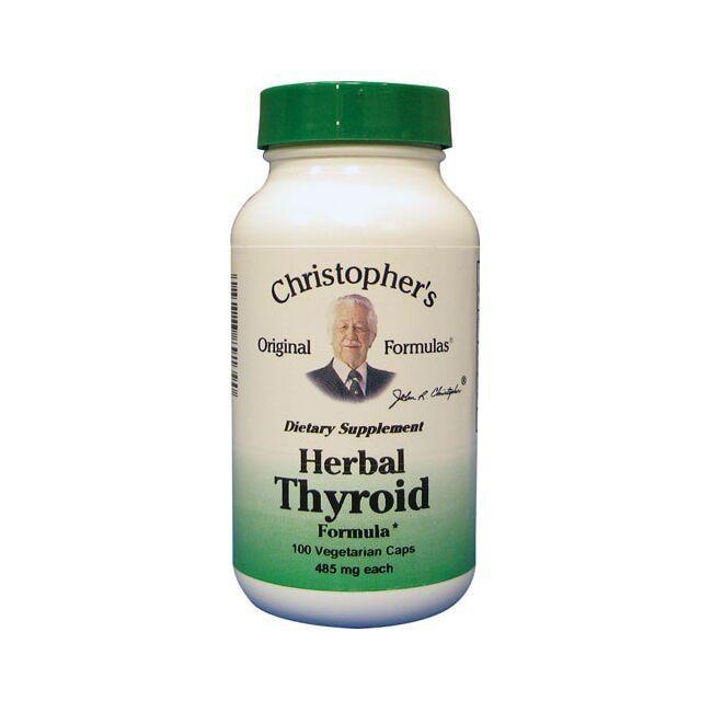 Dr. Christopher's Herbal Thyroid Formula 100 Veg Caps