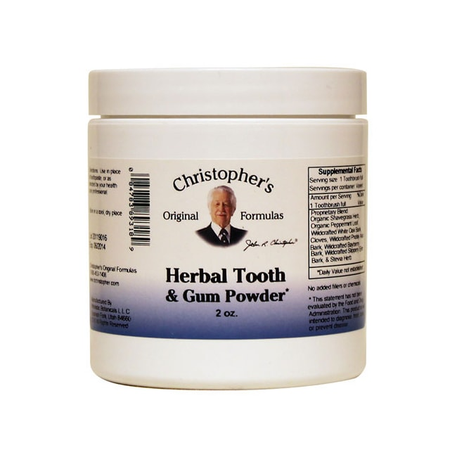 Dr. Christopher'sHerbal Tooth & Gum Powder