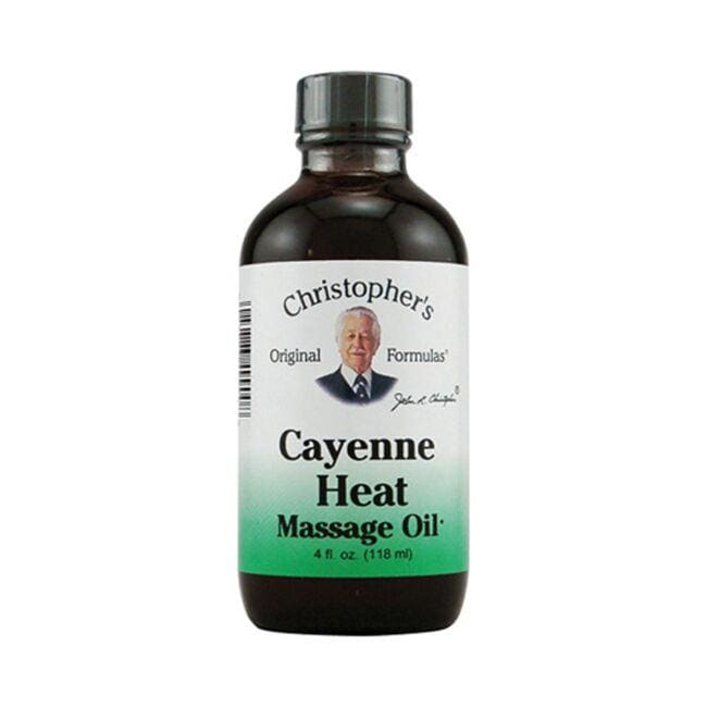 Dr. Christopher's Cayenne Heat Massage Oil