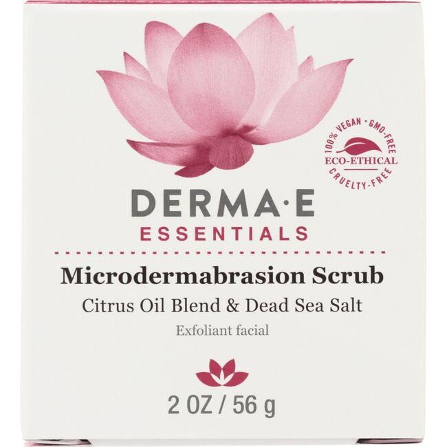 Derma EMicrodermabrasion Scrub w/ Citrus Oil Blend & Dead Sea Salt