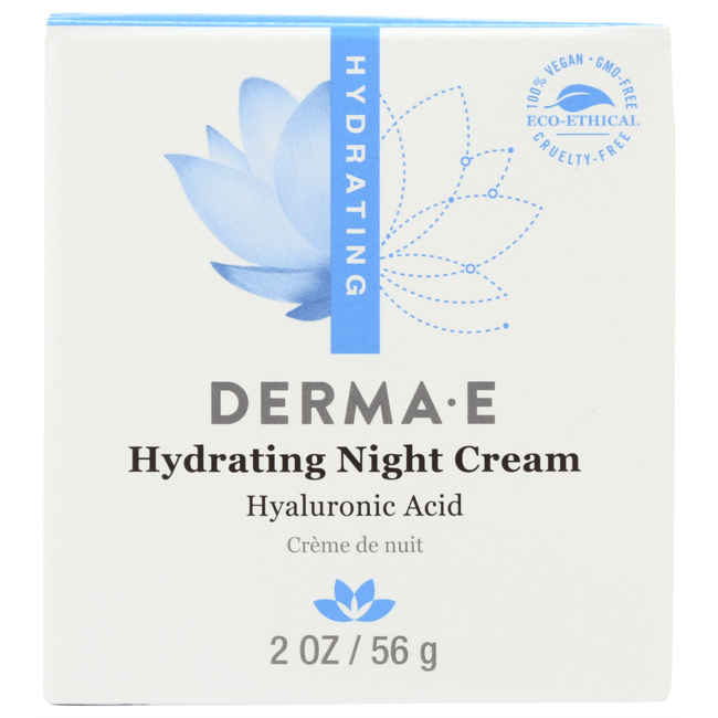 Derma EHydrating Night Creme with Hyaluronic Acid
