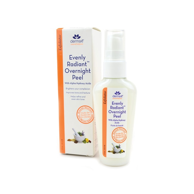 Derma E Evenly Radiant Overnight Peel with Alpha Hydroxy Acids