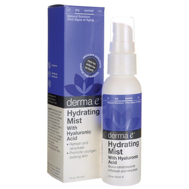 Derma EHydrating Mist with Hyaluronic Acid