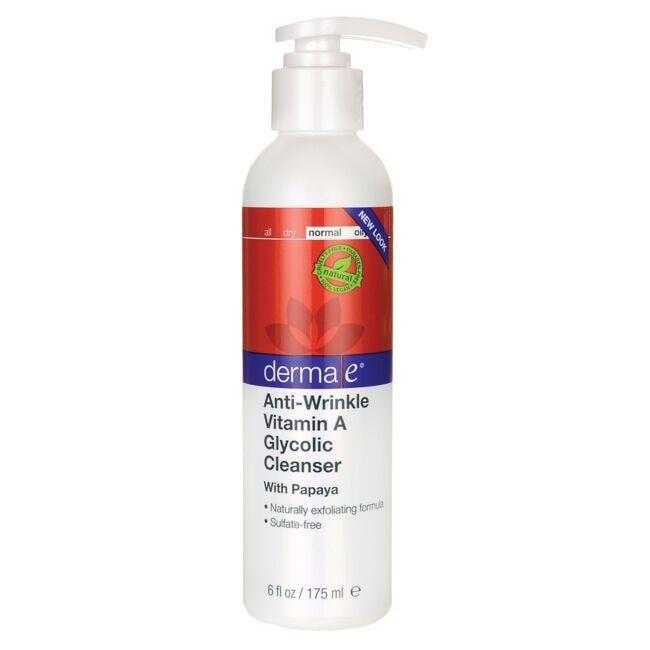 Derma EAnti-Wrinkle Vitamin A Glycolic Cleanser With Papaya