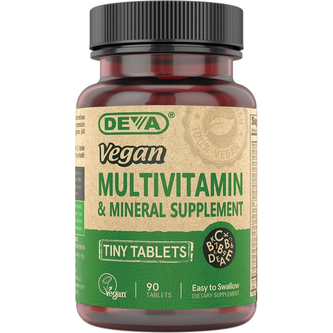 DevaVegan Multivitamin & Mineral Supplement