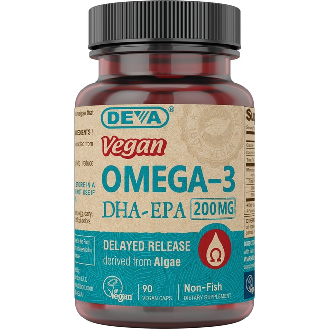 DevaVegan Omega-3 DHA-EPA