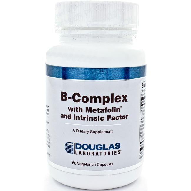 Douglas Laboratories B-Complex with Metafolin and Intrinsic Factor