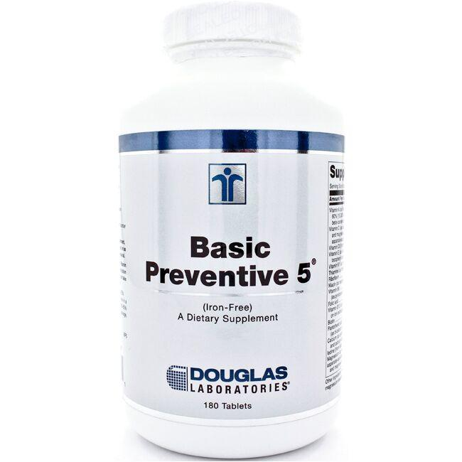Douglas Laboratories Basic Preventive 5 - Iron Free