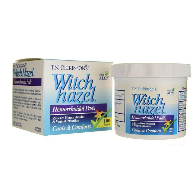 Dickinson Brands Witch Hazel Hemorrhoidal Pads