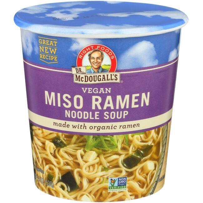 Dr. McDougall'sVegan Miso Ramen Noodle Soup