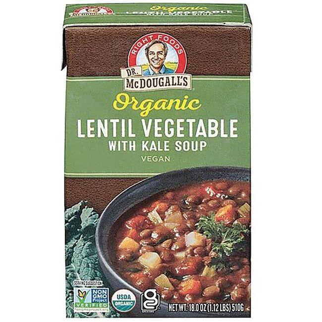 Dr. McDougall'sOrganic Lentil Vegetable All Natural Soup