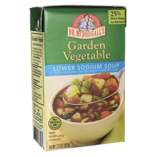 Dr. McDougall'sGarden Vegetable Lower Sodium Soup