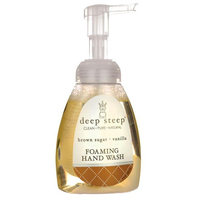 Deep Steep Foaming Hand Wash - Brown Sugar - Vanilla