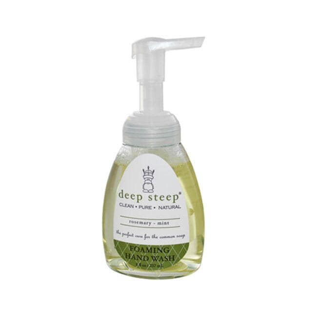 Deep SteepFoaming Hand Wash - Rosemary - Mint