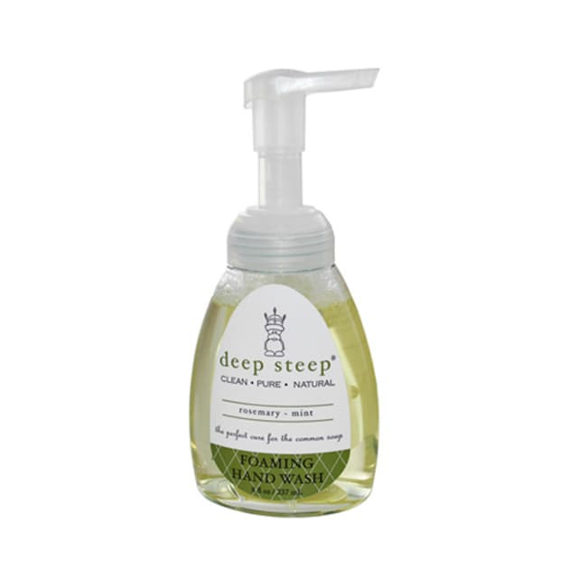 Deep SteepFoaming Hand Wash - Rosemary - Mint