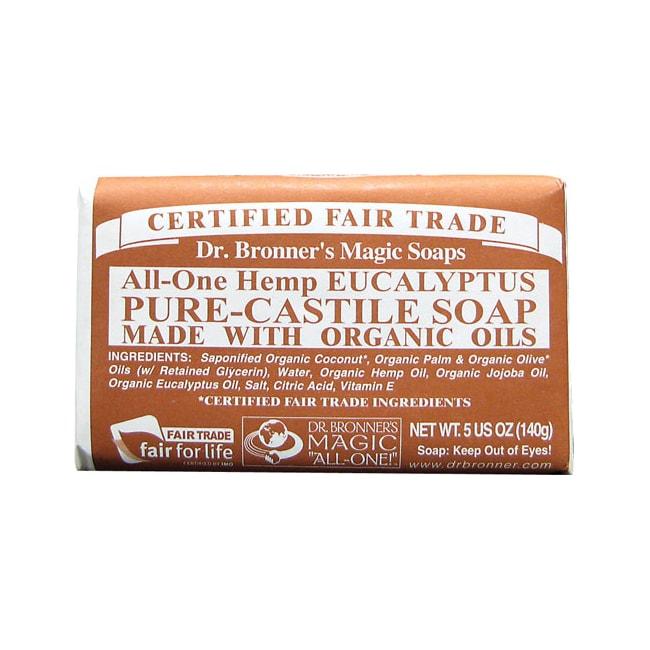 Dr. Bronner'sPure Castile Bar Soap Eucalyptus